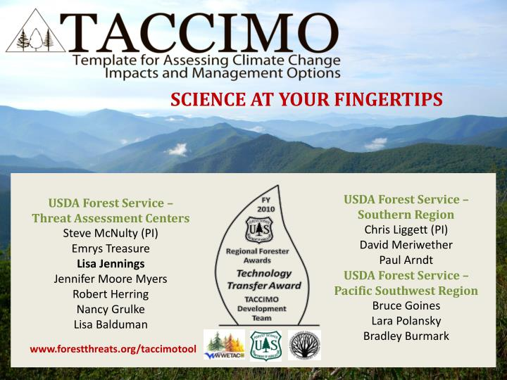 SCIENCE AT YOUR FINGERTIPS