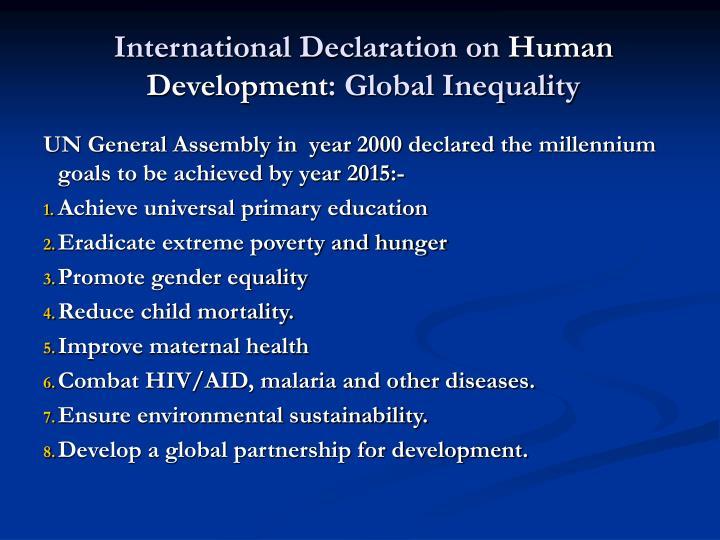 International Declaration on