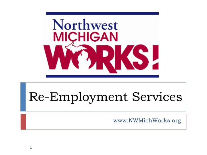 Re employment services