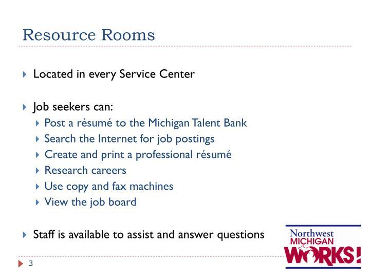 Resource Rooms