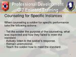 professional development g 7 enlisted training10
