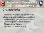 professional development g 7 enlisted training17
