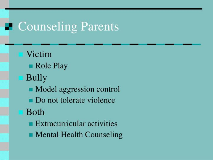 Counseling Parents