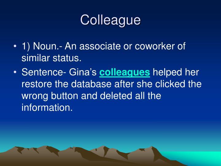 Colleague