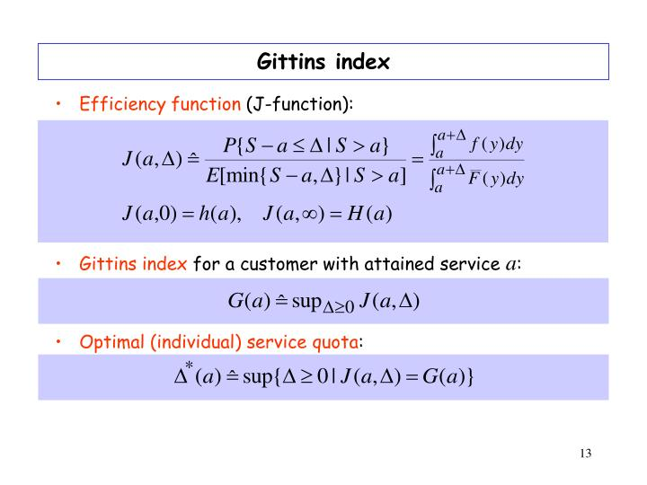 Gittins index