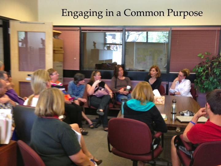 Engaging in a Common Purpose