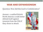 war and expansionism1
