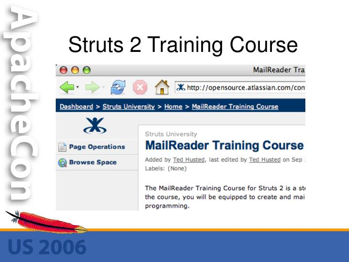 Struts 2 Training Course