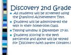 discovery 2nd grade