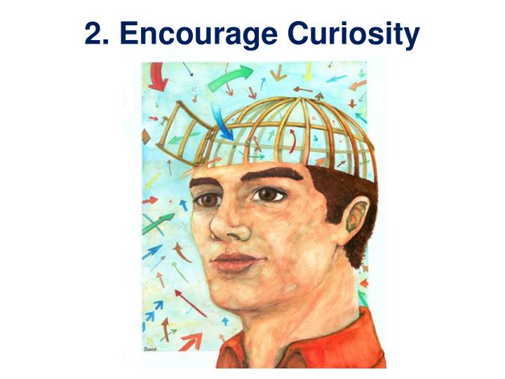 2. Encourage Curiosity