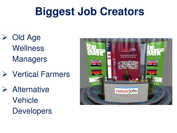 Biggest Job Creators