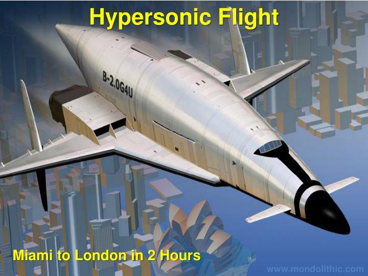 Hypersonic Flight