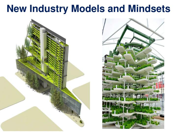 New Industry Models and Mindsets