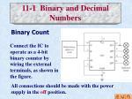 11 1 binary and decimal numbers1