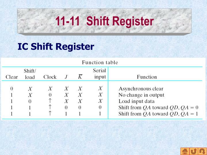 11-11  Shift Register