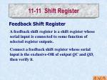 11 11 shift register4