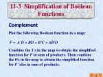 11 3 simplification of boolean functions4