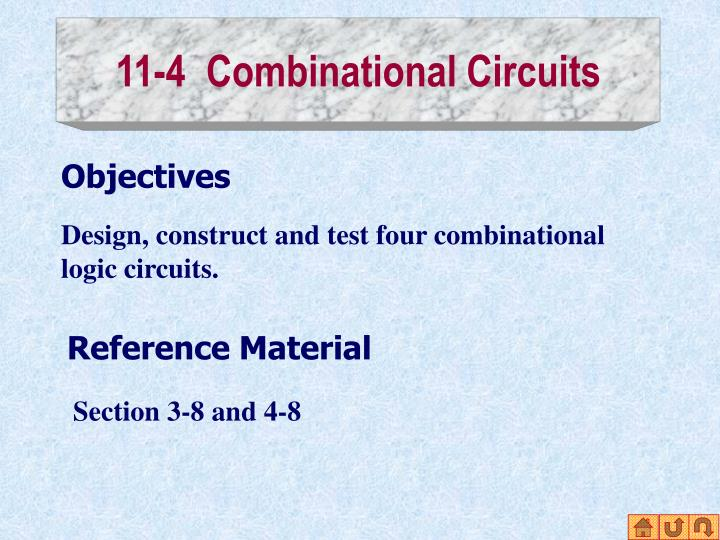 11-4  Combinational Circuits