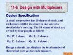 11 6 design with multiplexers2