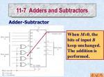 11 7 adders and subtractors4