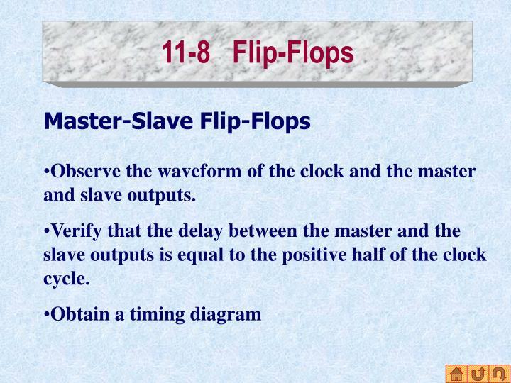 11-8   Flip-Flops