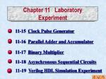 chapter 11 laboratory experiment3