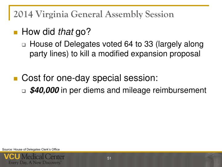 2014 Virginia General Assembly Session