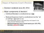 impact of supreme court s decision