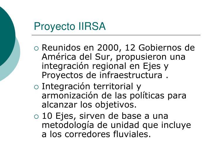 Proyecto IIRSA