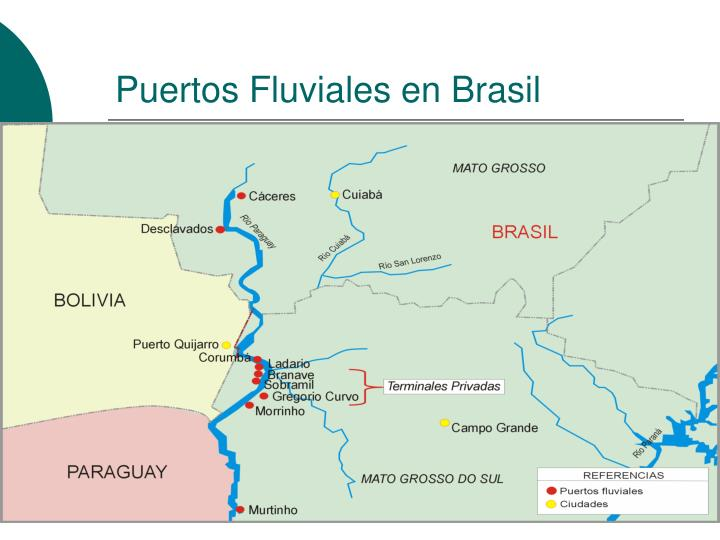 Puertos Fluviales en Brasil