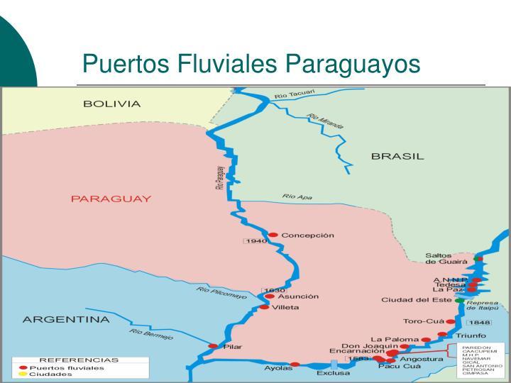 Puertos Fluviales Paraguayos