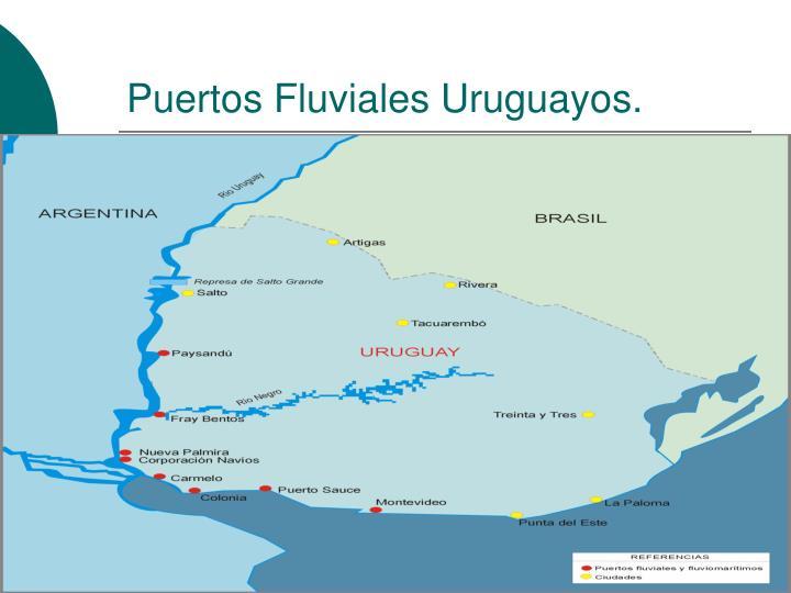 Puertos Fluviales Uruguayos.