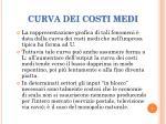curva dei costi medi