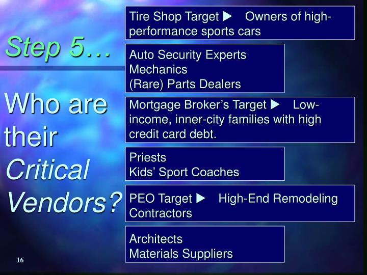 Tire Shop Target