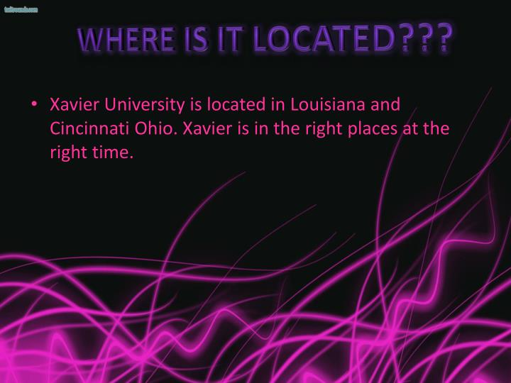 Where is it Located???