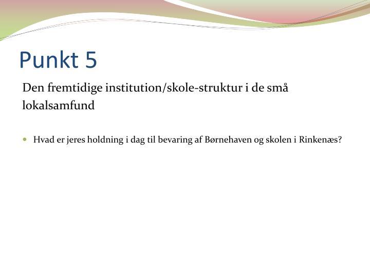 Punkt 5