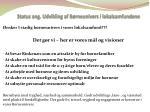 status ang udvikling af b rneunivers i lokalsamfundene