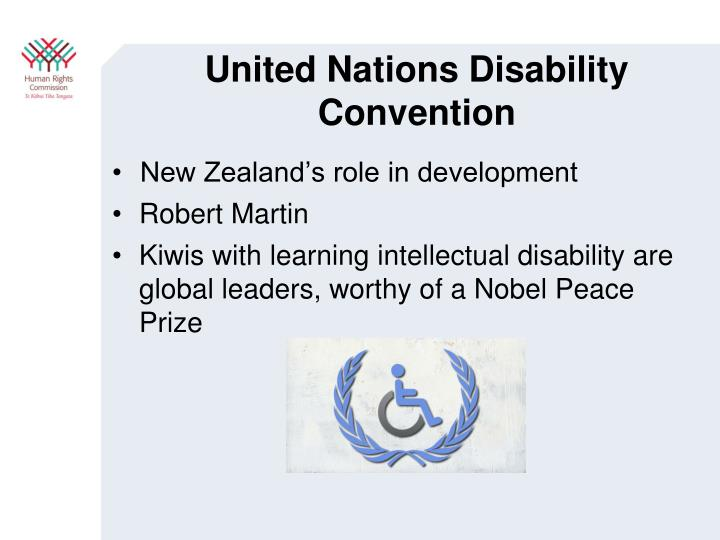 United Nations Disability Convention