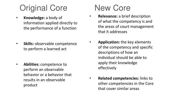 New Core