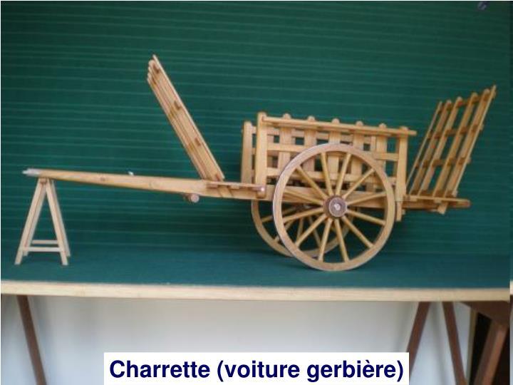 Charrette (voiture gerbière)