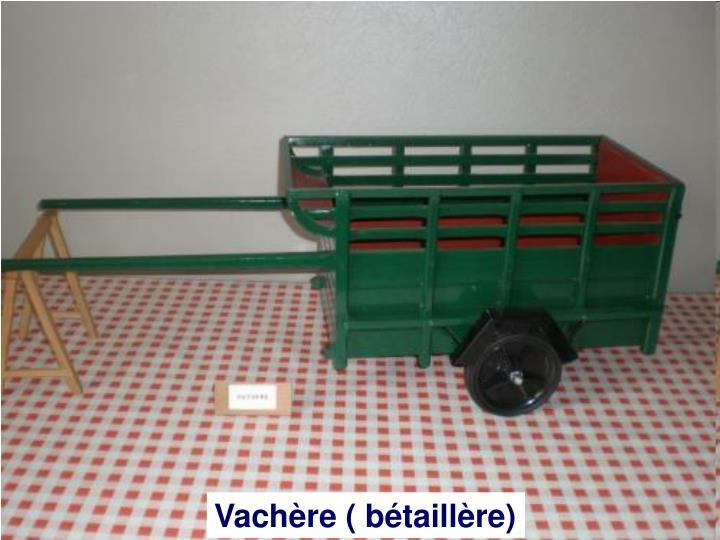 Vachère ( bétaillère)
