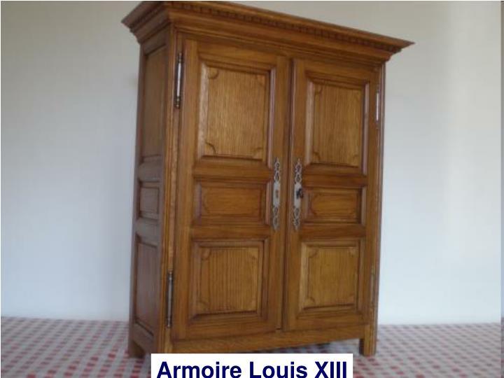 Armoire Louis XIII
