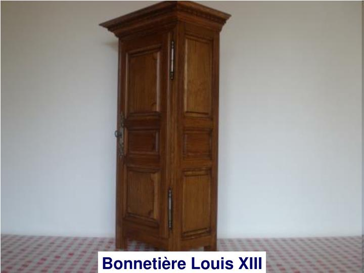 Bonnetière Louis XIII