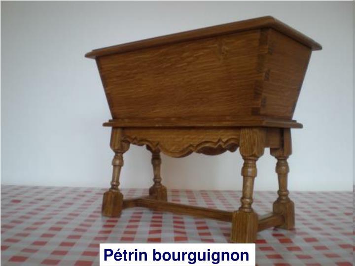 Pétrin bourguignon