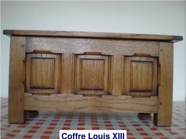 Coffre Louis XIII