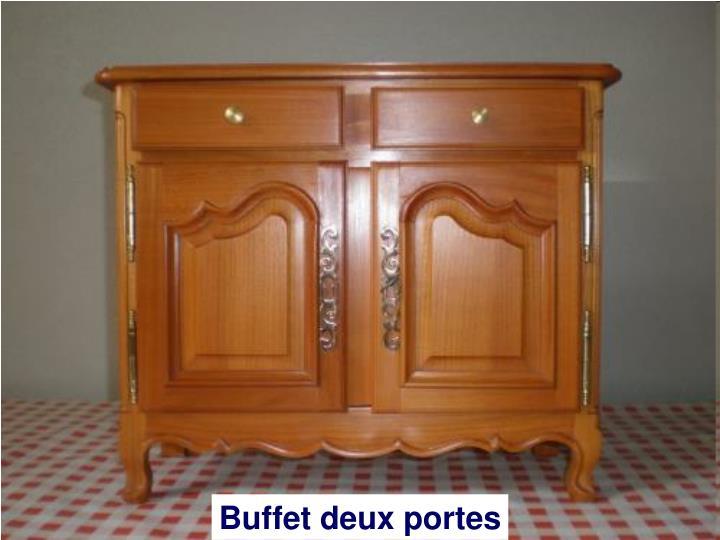 Buffet deux portes