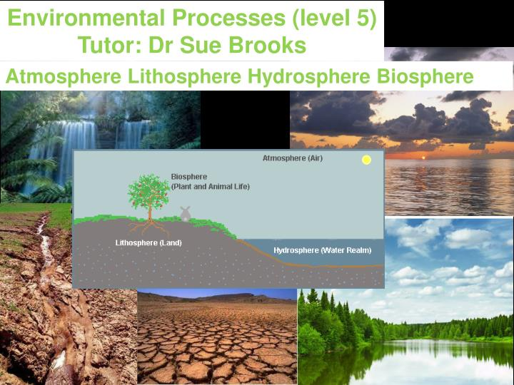 Environmental Processes (level 5)