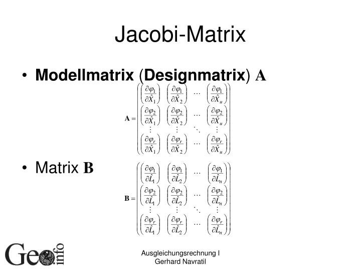 Jacobi-Matrix