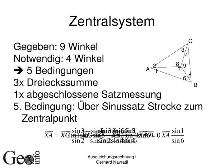 Zentralsystem
