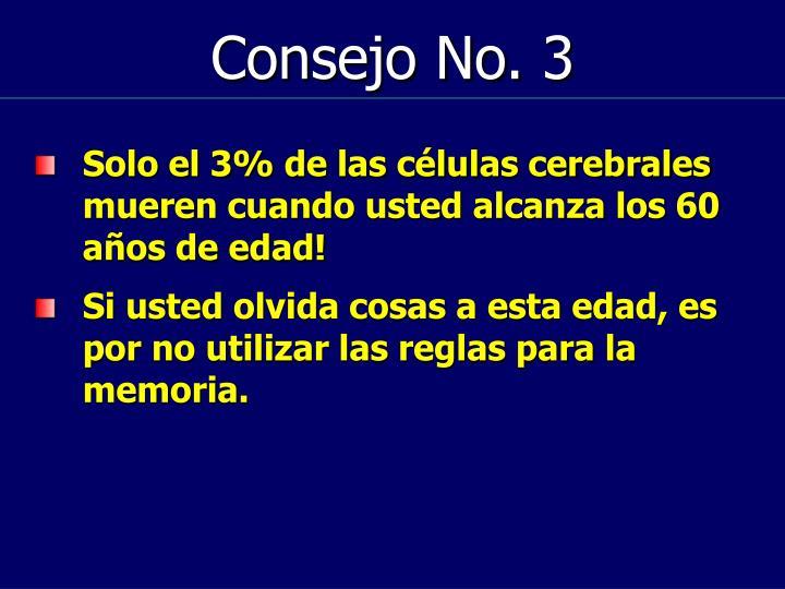 Consejo No. 3